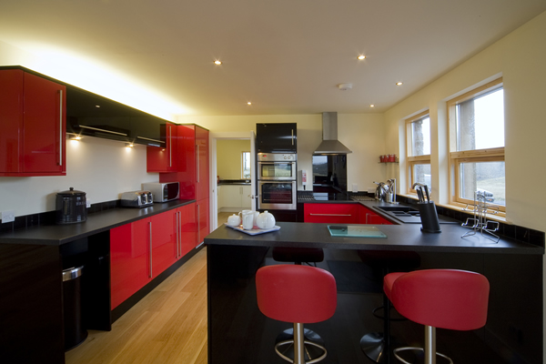 Collaig Byre self catering by Loch Awe Argyll Scotland - Kitchen