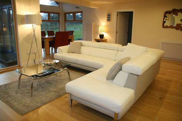 Collaig Byre self catering by Loch Awe Argyll Scotland - Lounge