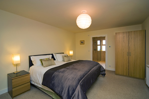 Collaig Byre self catering by Loch Awe Argyll Scotland - Master bedroom